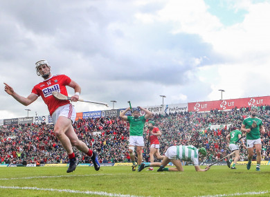 Limerick were rocked by Cork's second-half display yesterday.