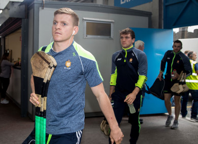 Podge Collins and Shane O'Donnell ahead of the 2018 All-Ireland semi-final replay.
