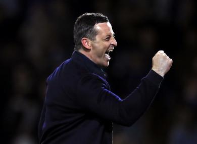 Sunderland manager, Jack Ross.