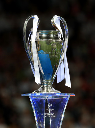 The Champions League trophy.