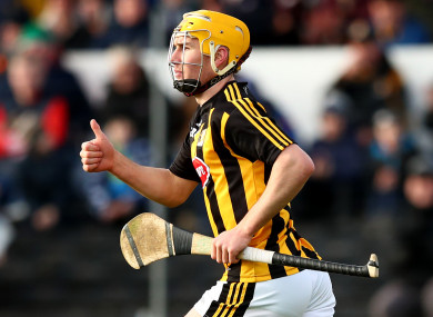 Richie Leahy comes in for Kilkenny.
