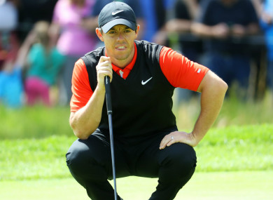 Optimistic: Former champion Rory McIlroy.
