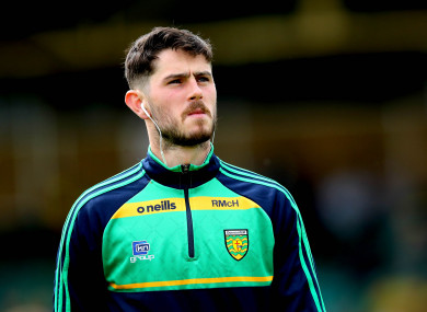 Donegal's All-Star Ryan McHugh.