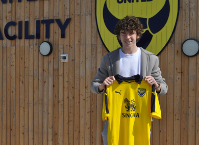 Little Sam: 18-year-old Allardyce has signed on a one-year deal.
