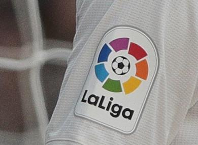 La Liga's logo.