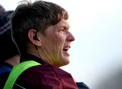 Galway manager Tim Rabbitte.