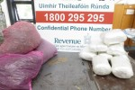 A file photo of a drugs seizure at Portlaoise Mail Centre earlier this year.