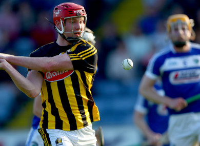Adrian Mullen in action for the Kilkenny U20's against Laois.