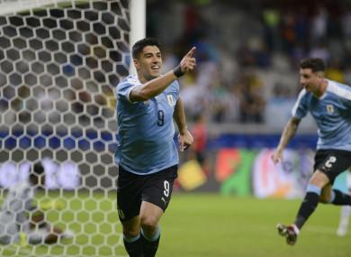 Suarez was on the mark on Sunday night.