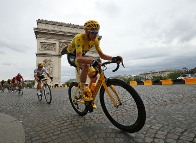 Chris Froome won his fourth Tour de France title in 2017.