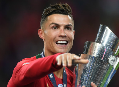 Ronaldo helped Portugal secure a triumph in the inaugural Nations League.