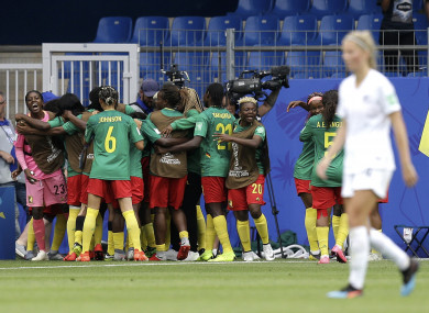 There was joy at the death for Cameroon this evening.
