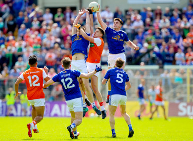 Cavan came out on top by six at the end of a fierce battle.