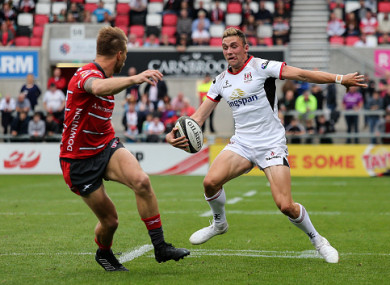 Sexton featured against Gloucester in a pre-season friendly last summer.