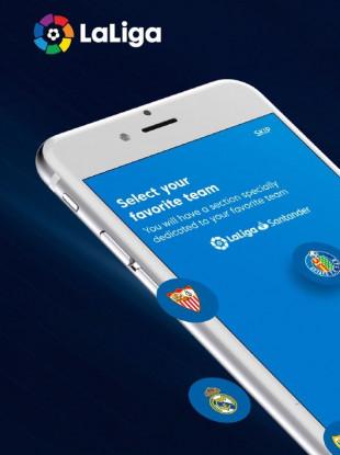 La Liga's official app.