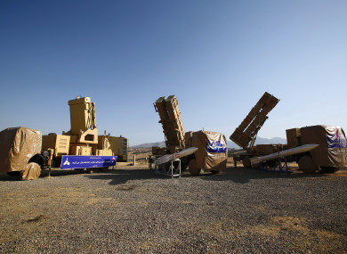 Iran's advanced missile defence unveiled earlier this month