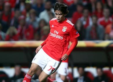 Portugal and Benfica forward Joao Felix