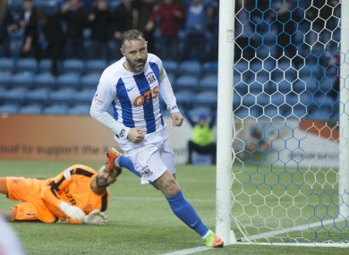 Boyd enjoyed three spells at Killie.