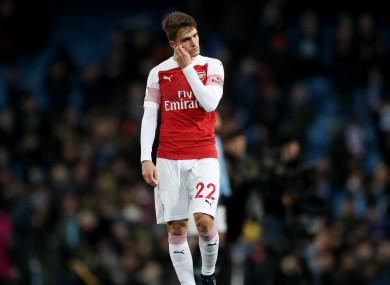 Arsenal's Denis Suarez.