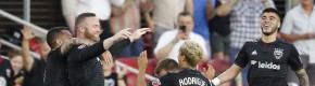 Wayne Rooney hit another goal from his own half with this brilliant strike for DC United last night