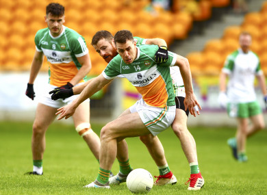 McNamee scored two goals for Offaly.