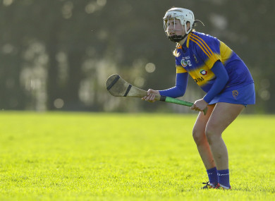 Tipperary's Nicole Walsh is recovering at home after being discharged from hospital [file photo].