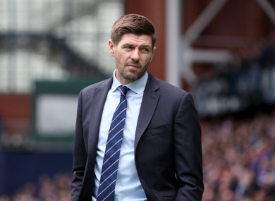 Gerrard insists he is not looking to leave Rangers.