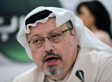 Saudi journalist Jamal Khashoggi