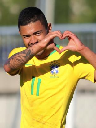 Brazil's Bruno Tabata.
