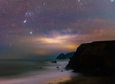 Ian Carruthers captures the beauty of night skies on his @irishskies account