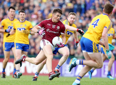 Shane Walsh and Galway came out on top at Dr Hyde Park in last year's decider.