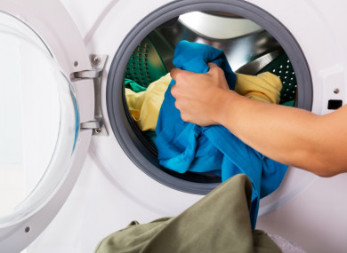 How do I banish that weird musty smell from my washing machine?