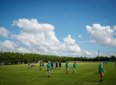 A general view of Croagh GAA last weekend.