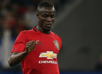 Manchester United centre-back Eric Bailly