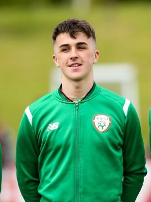Ireland U19 international Barry Coffey.