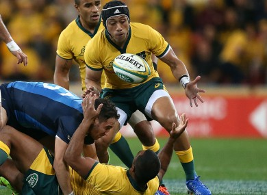 Christian Lealiifano on his return to the Wallabies fold.