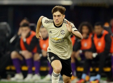 Swansea City winger Daniel James