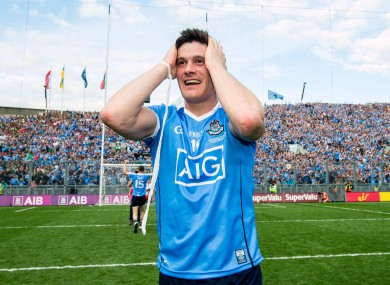 Connolly pictured after the 2017 All-Ireland final.