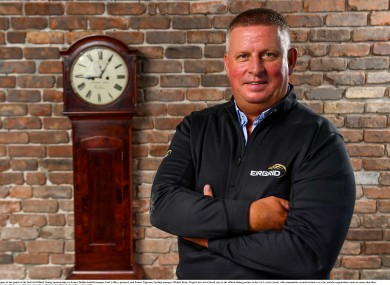Caffrey was speaking at the launch of EirGrid's Manager Moments In Time campaign.