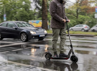 In Ireland, e-scooters exist in a kind of legal grey area.