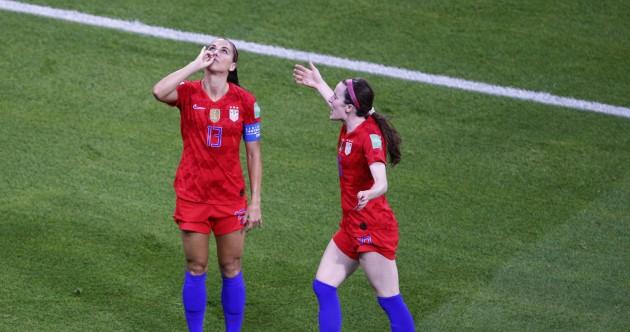 As it happened: England v USA, World Cup Semi-Final