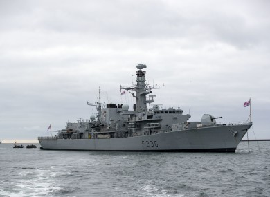 File photo - HMS Montrose