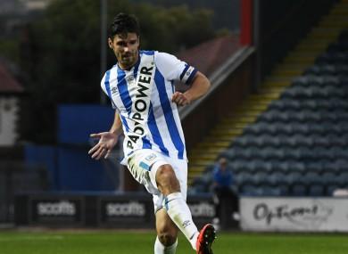 Huddersfield's new kit has raised eyebrows.