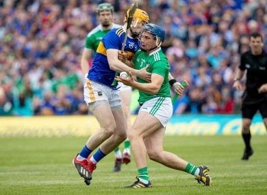Jake Morris in action for Tipperary in the Munster senior final.