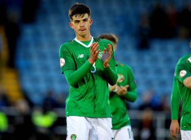 James Furlong is an Ireland underage international.