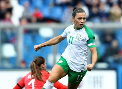 Ireland captain Katie McCabe.