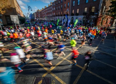A record 22,500 runners will take to the capital's streets in October.