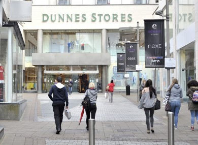 File photo. Dunnes Stores came out on top ahead of Tesco and Supervalu