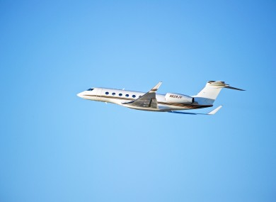 File photo - Gulfstream G650 jet