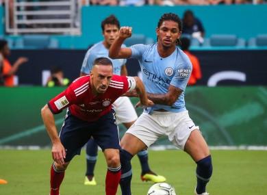 Douglas Luiz moves to Aston Villa from Manchester City.